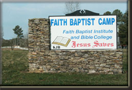 Faith Baptist Camp